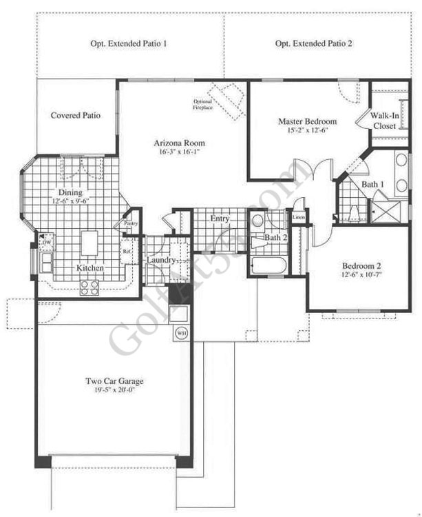 Arizona traditions homes for sale real estate for Arizona house plans
