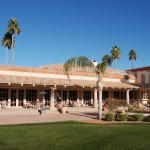 Palo Verde - rear view of clubhouse