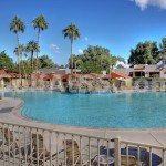 Pool Area - 7,000 square feet of pool & spa!