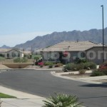Driving through Solera Chandler - views of San Tan Mntns