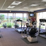 Fitness Center - aerobics equipment