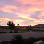The end of another perfect day at Solera Chandler!