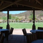 Patios at clubhouse