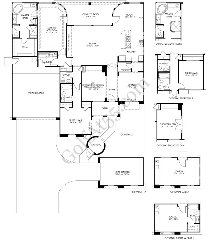Elliott Homes Floor Plans