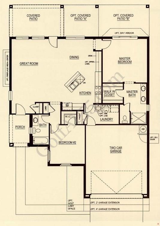 Robson ranch eloy az floor plans models for Arizona floor plans