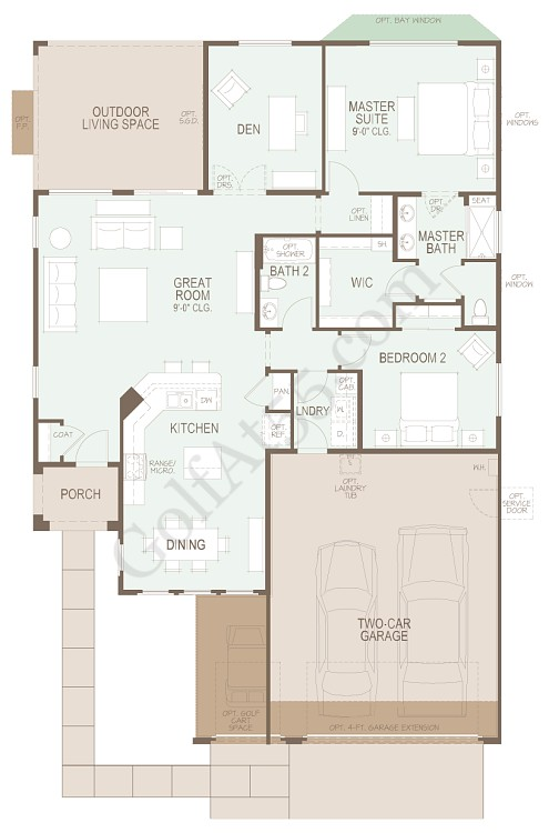 Robson ranch eloy floor plans carpet review for Az house plans