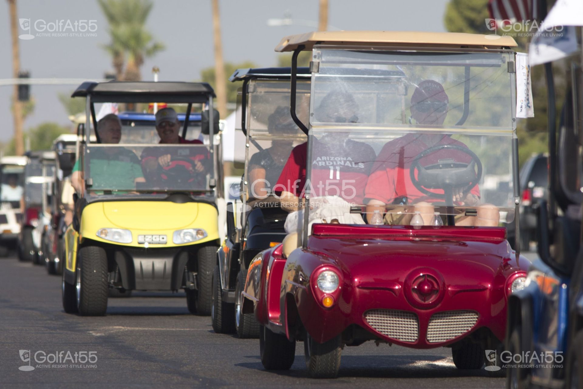 Sun City AZ, golf carts
