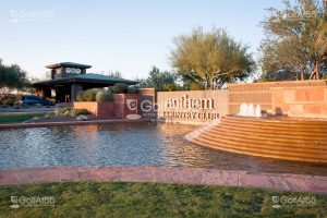Anthem Country Club, entrance