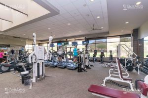 Persimmon Clubhouse fitness center