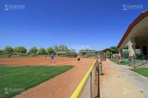 Softball field