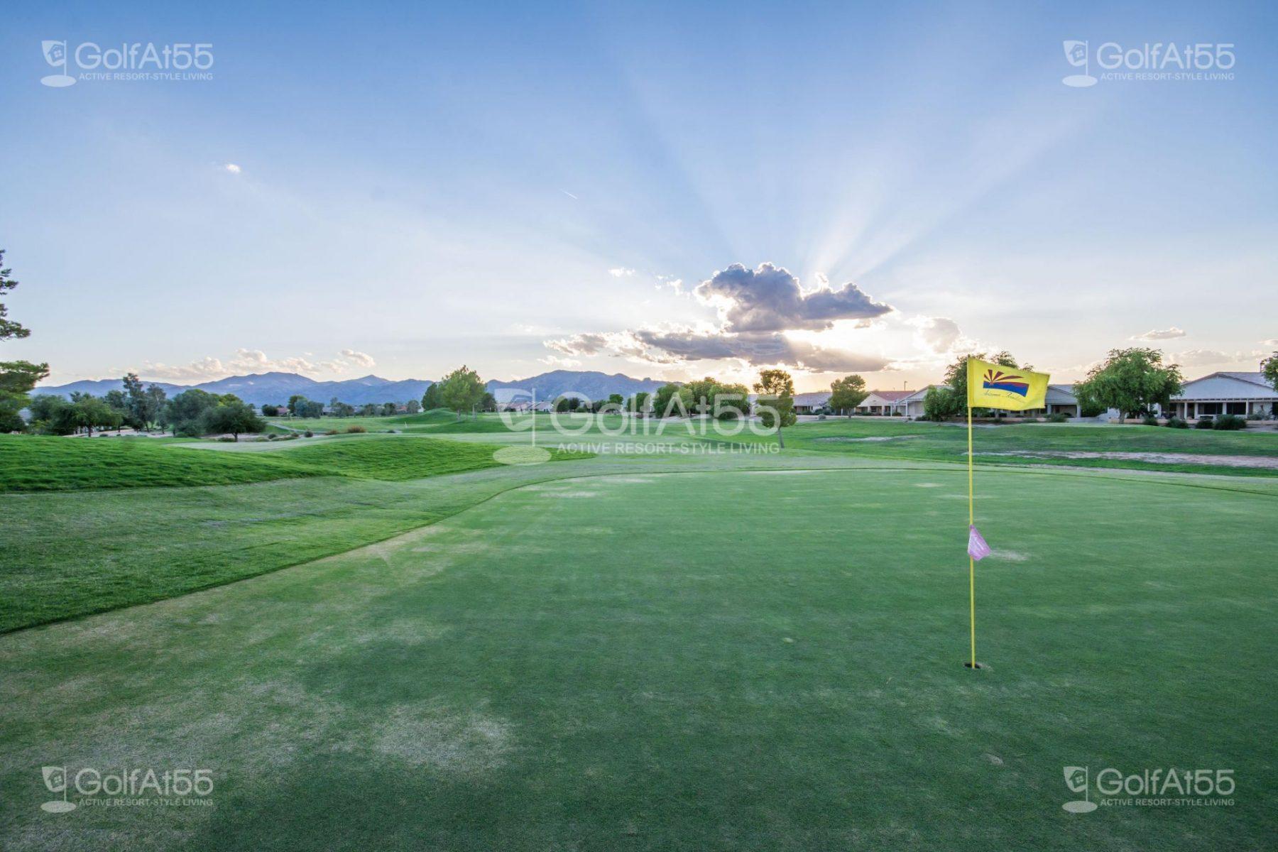 Phoenix arizona golf retirement communities retirement for Continental homes floor plans arizona