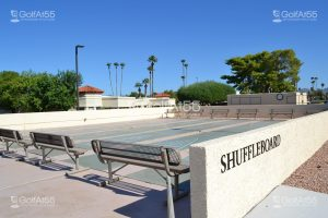 Fountain of the Sun, shuffleboard