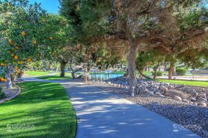 Leisure World, walking path