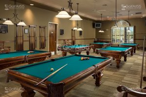 Mission Royale, billiards